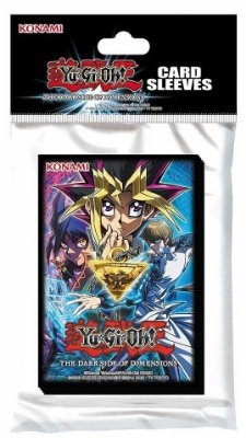 YU-GI-OH! 50 SLEEVES THE DARK SIDE OF DIMENSIONS PROTETOR P/ CARTAS ORIGINAL