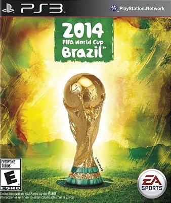 FIFA COPA DO MUNDO BRASIL 2014 PS3 NOVO LACRADO EM PORTUGUÊS