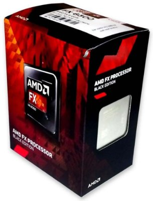 PROCESSADOR AMD AM3+ 6 NÚCLEOS FX 6300 3.5 GHZ BLACK EDITION FD6300WMHKBOX