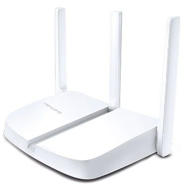 ROTEADOR WIRELESS MERCUSYS MW305R 3 ANTENAS 300 MBPS 3 PORTAS LAN