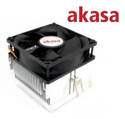 COOLER PROCESSADOR AMD AKASA AK-860EF 754 939 AM2 AM3 AM4 FM1 FM2