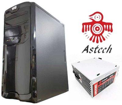 GABINETE PRA COMPUTADOR COM FONTE 300W ASTECH 2421805