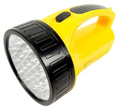LANTERNA RECARREGÁVEL DP.LED LIGHT DP-1706 19 LEDS BIVOLT