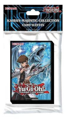 YU-GI-OH! 50 SLEEVES KAIBA MAJESTIC COLLECTION PROTETOR P/ CARTAS ORIGINAL