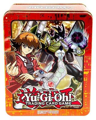 YU-GI-OH! MEGA LATA 2018 JADEN 53 CARTAS EM PORTUGUES