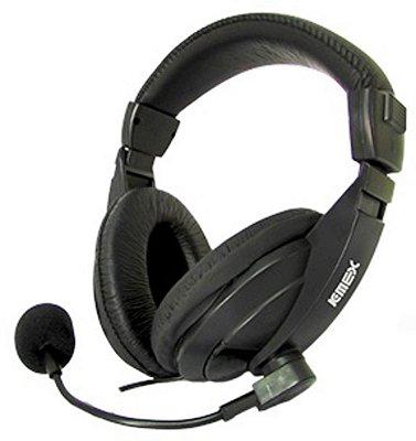 FONE DE OUVIDO HEADSET K-MEX ARS-7500 PC NOTE