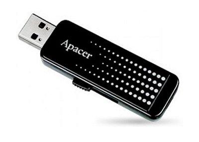 PEN DRIVE 16GB APACER AH323 RETRÁTIL USB 2.0