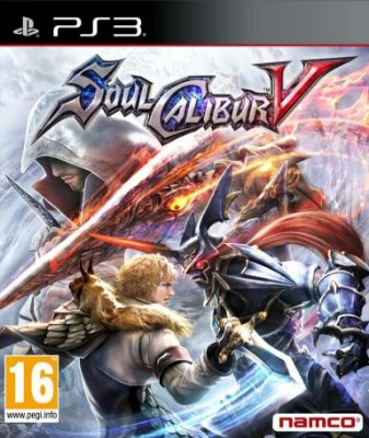 SOUL CALIBUR 5 V PS3 NOVO LACRADO
