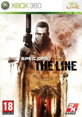 SPEC OPS THE LINE PREMUIM EDITION XBOX 360 NOVO LACRADO