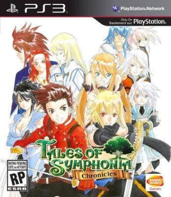 TALES OF SYMPHONIA CHRONICLES PS3 NOVO LACRADO