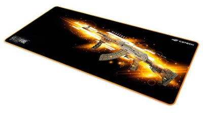 MOUSE PAD GAMER CONTROL C3TECH KILLER FIRE BORDAS COSTURADAS 70X30 CM