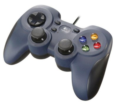 CONTROLE JOYSTICK LOGITECH F310 USB PC TV STEAM LACRADO