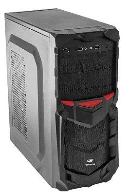 GABINETE GAMER C3TECH MT-G50BK SUPORTA SSD