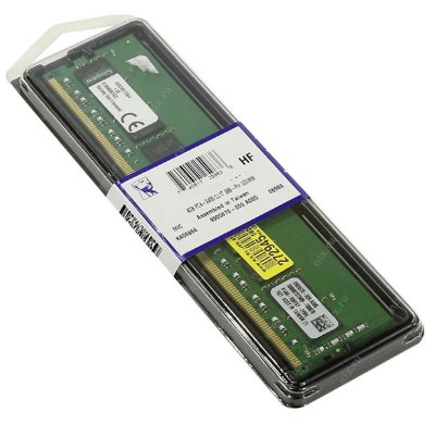 MEMÓRIA DDR4 4GB KINGSTON KVR26N19S6/4 2666 MHZ
