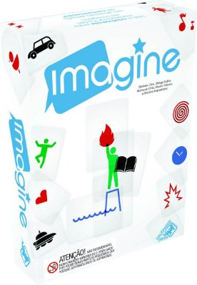 IMAGINE JOGO DE TABULEIRO / CARTAS LACRADO