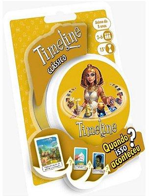 TIMELINE CLÁSSICO JOGO DE TABULEIRO / CARTAS LACRADO