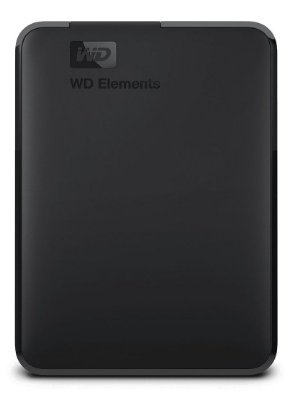 HD EXTERNO PORTÁTIL WESTERN DIGITAL WD ELEMENTS 1TB USB 3.0 WDBUZG0010BBK
