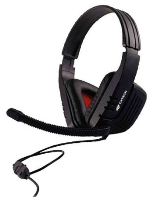 FONE DE OUVIDO HEADSET GAMER C3TECH MI-2558RB PC NOTE