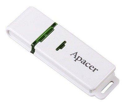 PEN DRIVE 32GB APACER AH223 USB 2.0 BRANCO