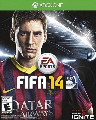FIFA 14 XBOX ONE NOVO LACRADO EM PORTUGUES