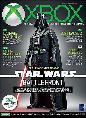 STAR WARS BATTLEFRONT REVISTA OFICIAL XBOX EDIÇÃO 110