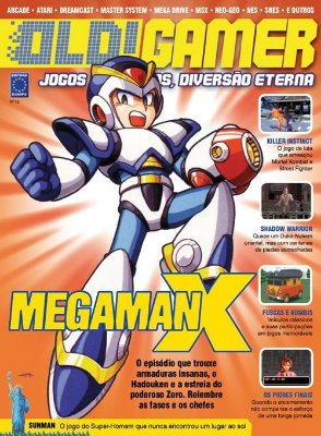 MEGAMAN X REVISTA OLD!GAMER OLD GAMER 18