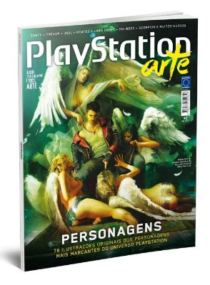 PLAYSTATION ARTE REVISTA ESPECIAL EDIÇÃO 2 NOVO