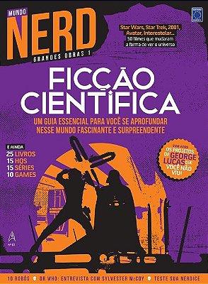 FICÇÃO CIENTÍFICA REVISTA MUNDO NERD GRANDES OBRAS 1 EDIÇÃO 7