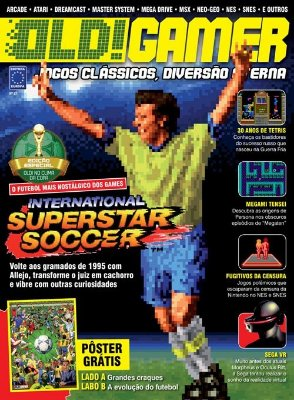 INTERNATIONAL SUPERSTAR SOCCER REVISTA OLD!GAMER OLD GAMER 21