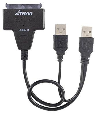 ADAPTADOR DE HD SSD SATA PARA USB 2.0 XTRAD XT2150