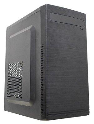 GABINETE COM FONTE ATX K-MEX GM-10TH COMPATÍVEL COM SSD