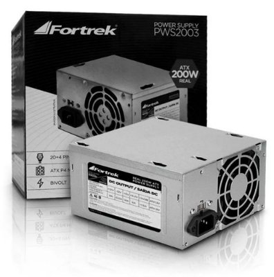 FONTE ATX 200W FORTREK PWS-2003 BIVOLT