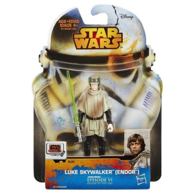 BONECO LUKE SKYWALKER ENDOR STAR WARS REBELS HASBRO LACRADO