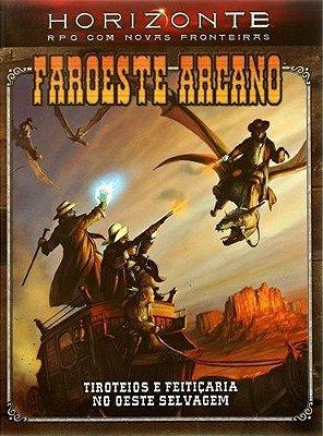 FAROESTE ARCANO D20 LIVRO RPG KEVIN WILSON DEVIR NOVO