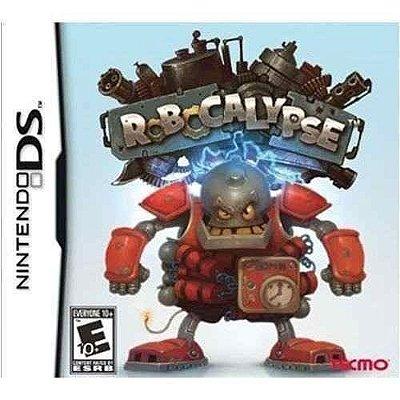 Jogo Robocalypse Nintendo Ds Novo Lacrado