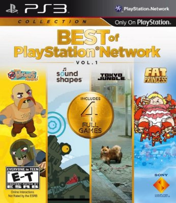 BEST OF PLAYSTATION NETWORK VOL 1 PS3 NOVO LACRADO