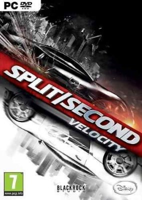 Jogo Split Second Pc Novo Lacrado