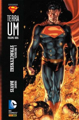 SUPERMAN TERRA UM VOLUME 2 EDIT PANINI CAPA DURA LACRADO