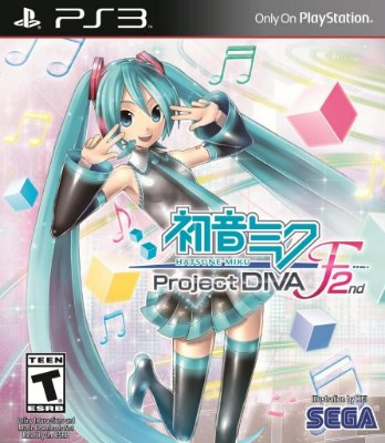 HATSUNE MIKU PROJECT DIVA F 2ND PS3 NOVO LACRADO