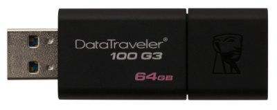 PEN DRIVE 64GB USB 3.1 KINGSTON DT100G3/64GB ORIGINAL