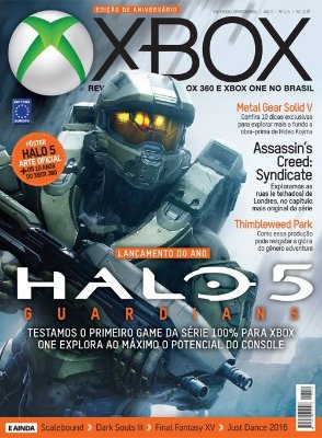 HALO 5 GUARDIANS REVISTA OFICIAL XBOX 114