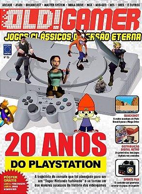 20 ANOS DO PLAYSTATION REVISTA OLD!GAMER OLD GAMER 23
