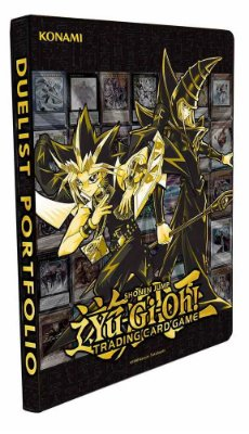 FICHÁRIO ORIGINAL YU-GI-OH! GOLDEN DUELIST COLLECTION PORTFOLIO ATÉ 180 CARDS