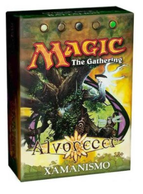 MAGIC THE GATHERING DECK ALVORECER XAMANISMO EM PORTUGUÊS