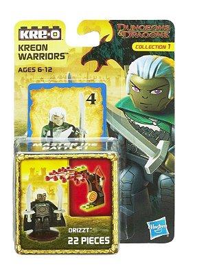 DUNGEONS & DRAGONS KRE-O ESTILO LEGO GUERREIRO KREON DRIZZT