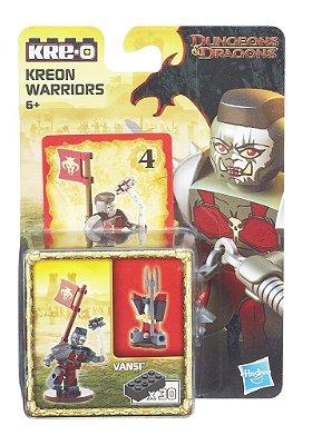 DUNGEONS & DRAGONS KRE-O ESTILO LEGO GUERREIRO KREON VANSI