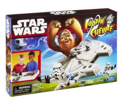 JOGO STAR WARS LOOPIN CHEWIE ESTILO LOOPING LOUIE HASBRO