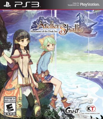 ATELIER SHALLIE ALCHEMISTS OF THE DUSK SEA PS3 NOVO LACRADO