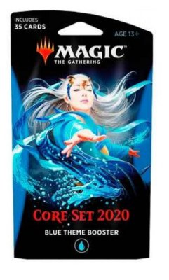 MAGIC THE GATHERING BOOSTER ESPECIAL CORE SET 2020 TEMA AZUL EM INGLÊS