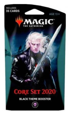 MAGIC THE GATHERING BOOSTER ESPECIAL CORE SET 2020 TEMA PRETO EM INGLÊS